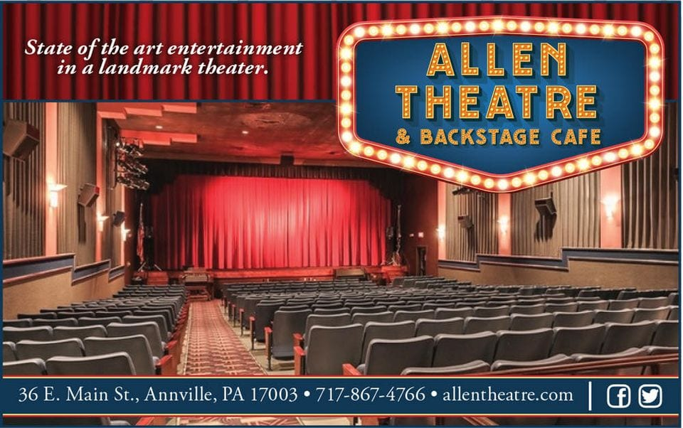 Supporting Live Entertainment – The Allen Theatre in Annville, PA