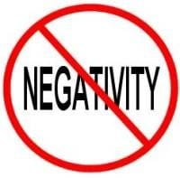 "Say ""No"" to Negativity"